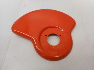 """Weed Eater String Trimmer Debris Guard Orange 3 Bolt Pattern 1 1/2"""" Center Hole"""