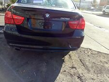 BMW E90 320i 2009 MODEL REAR BUMPER BAR BLACK SAPPHIRE METALLIC P/C 475  09-13
