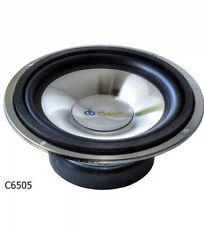 Altavoces Estéreo Radio De Coche Woofers de 6.5 pulgadas 16.5cm 165mm 125w potencia de salida de cromo
