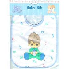 Bib Baby Infant Blue Boy Precious Moments NEW