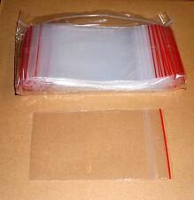 500 Tütchen Polybeutel 70 x 100 mm ( 7 x 10 cm ) Druckverschlussbeutel Zip Tüten