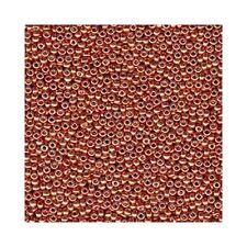 Miyuki Seed Beads 15/0 Round Glass 15-4207 Duracoat Galvanized Pink Blush  8.2g