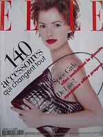 October 1997 FRENCH ELLE Mag  THE SPICE GIRLS  CLOTILDE COURAU  LEONARD COHEN