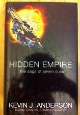 Hidden Empire Kevin J. Anderson Hardcover