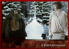 HARRY POTTER AND THE GOBLET OF FIRE - Card #139 - SUBTLE INVITATION, ARTBOX 2006