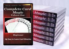 Complete Card Magic Gerry Griffin 7 DVD SET TRICKS RARE encyclopedia trick
