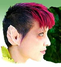 Hallowen Stage Theatrical Latex Ears Dryad Leaf Elf Fairy Fantasy Cosplay LARP