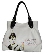 Audrey Hepburn Breakfast At Tiffany's Tote Bag by Radio Days ... rare *NEW* *FS*