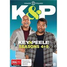 Key & Peele Series Complete Seasons  4 5 DVD Boxset Region 4