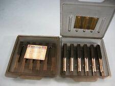 Qty 6 New Regal/Beloit 7/16-14 NC GH5 HSS Grd Thd 4 Flute Plug Tap Nitride