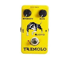 Joyo Jf-09 Tremolo Electric Guitar Effect Pedal Box True Bypass