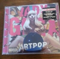 LADY GAGA Artpop Deluxe Edition CD & DVD NEW SEALED