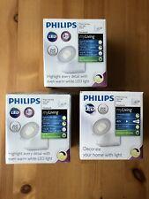 3xPhilips myLiving LED Spotlight Lamp Light Bulb Clockwork 4.5 W White 531703116