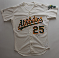 Mark McGwire signed game worn used 1988 Oakland Athletics jersey! Miedema LOA!