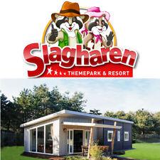 3 Tage Familienurlaub Freizeitpark Slagharen 6 Personen in der Raccoon Lodge