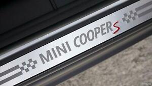 New Genuine MINI COOPER S F55 CLUBMAN F54 Front Door Entrance Sill Cover 7374896