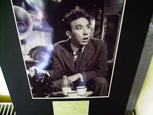 FRANKIE HOWERD CARRY ON UP POMPEII AUTHENTIC SIGNED AUTOGRAPH DISPLAY UACC