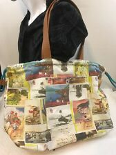 Boden Canvas Tote, Beach Bag, Shopping Bag,  Draw String Overnight NWOT