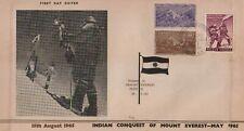 Classic India Everest 1953 1965 Spl Big Fdc Very Scarce