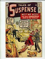 Tales Of Suspense #36  1962  4.5   Kirby , Ditko , Heck & Reinman