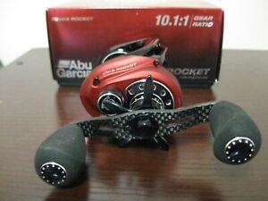 Abu Garcia Revo4 Rocket Baitcast Reel RH 10.1:1 New in Box w/papers