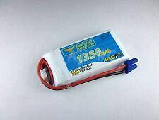 HobbyZone Delta Ray Firebird Stratos 1350mah 7.4V 40C Lipo Battery w/EC2