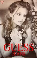 "GUESS JEANS ORIGINAL FULL SIZE PROMO POSTER 36"" X 24""   BEAUTIFUL MODELS    ""B"""