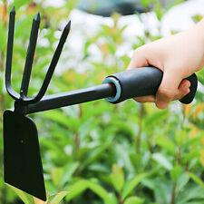 Lawn Garden Tools Digging Weeding Planting Gardening Loose Shovel 2-Purpose Hoe