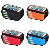 Touch Screen Bicycle Bags Storage Bag for 5.0 inch Mobile Phone Waterproof