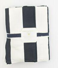 Pottery Barn Teen ~ Emily & Meritt ~The Circus Stripe Queen Bedskirt~Black/White