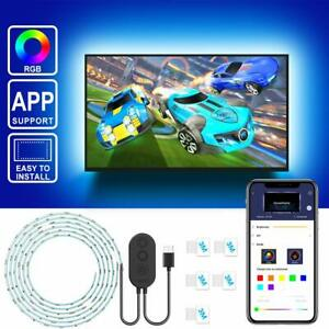 TV LED Backlight with APP Control, Govee 2M LED Strip Lights for TV 40-55in, RGB