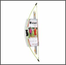 Bear Archery 1st Shot Bow Set - Neon Green 8-12lbs. Right Hand/Left Hand