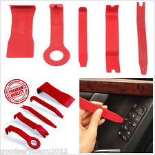 5In1 DIY Red Good Quality Nylon Vehicles Truck Interior Door Panel Pry Open Tool