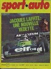 SPORT AUTO n°160 05/1975 avec encart & poster