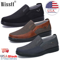 Fashion Men's Driving Moccasins Leather Casual Shoes Antiskid Loafers Slip on W6