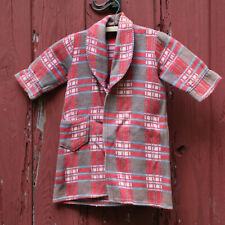 Vintage 40s 50s Kid's Beacon Fabric Robe Child Size Plaid