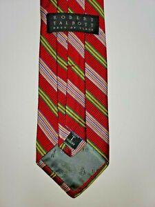 Robert Talbott Best of Class 100% Silk Men's Tie Made in USA EUC
