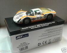 Qq 88255 Fly Porsche Carrera 6 1000km Nürburgring '68 # 68 Fischhaber Leuze