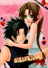 Final Fantasy 7 Vii Light Romance Doujinshi Comic Zack x Aeris Zax Aerith Girlfr