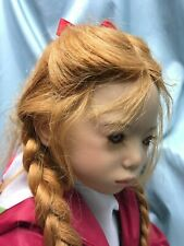 Annette Himstedt doll Runi Ii Iceland girl from 1998 - redhead 50% off