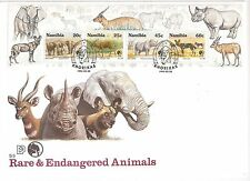 Namibia 1993 Nature Conservation miniature sheet on first day cover