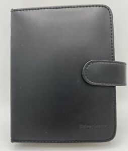 Price Planner Leather Coupon Organizer Black Date Book Binder Inserts Dividers