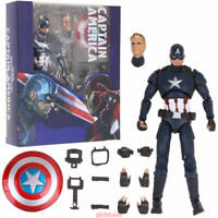 6'' S.H.Figuarts Captain America Civil War Figure SHF Action Collection