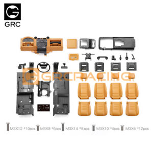 GRC 1/10 Defender Interior Full Set Color Set For TRX-4 Defender #G161DH G161DL
