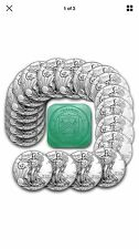 Silver American Eagle Coins Roll-Tube of 20 1 Oz 2017 Silver