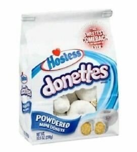 Hostess Donettes Powered Mini Donuts