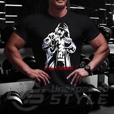 Para Hombre profundo cuello en V Camiseta Samurai Mma