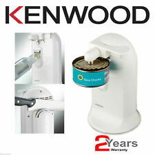 Kenwood Electric Automatic Can Opener Kitchen CO600 White + Knife Sharpener
