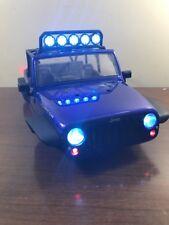 Axial SCX10 Jeep Wrangler Unlimited Rubicon Body w/ Roll Cage & Interior 1/10