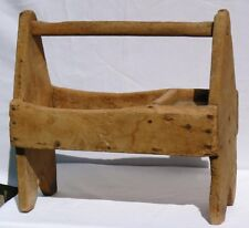Old Hand made primitive tool carrier.